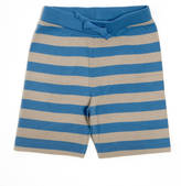 SAM. Lucy & Lucy And Grey And Blue Striped Jersey Shorts