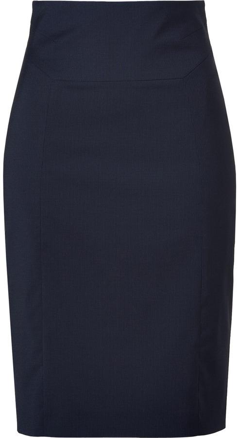 HUGO Open Blue Ramika Skirt