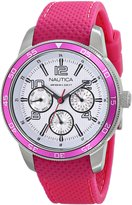Nautica Women's N15634M NCT Stainless Steel Dive Watch