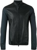 Armani Jeans classic bomber jacket - men - Polyamide/Polyester - 48