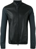 Armani Jeans classic bomber jacket - men - Polyamide/Polyester - 52