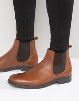Selected Oliver Leather Chelsea Boots