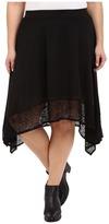 Roper Plus Size 0231 Poly Slub Jersey Skirt