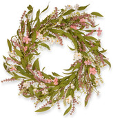 National Tree Company Spring Flowers Wreath, 22""