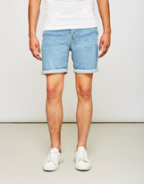 ONLY & SONS Loom Denim Shorts Blue