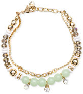 lonna & lilly Gold-Tone Multi-Bead Bracelet