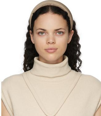 Sophie Buhai Taupe Classic Puffy Headband