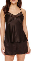 Ambrielle Satin Chemise and Shorts