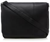 Ben Sherman Black Messenger Bag