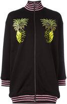 Giamba pineapple print bomber jacket