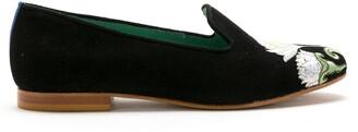 Blue Bird Shoes suede Le Jardin loafers