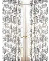 JoJo Designs Sweet 2-Piece French Toile Window Treatment Panels