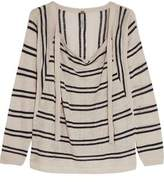 Soyer Baja Striped Linen And Cotton-Blend Sweater