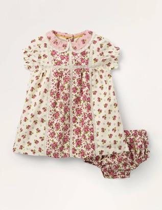Printed Woven Hotchpotch Dress