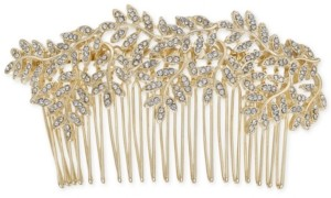 INC International Concepts Inc Gold-Tone Pave Vine Hair Comb, Created for Macy's