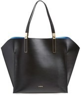 Lodis 'Blair Collection - Lucia' Leather Tote - Black
