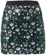Endless Rose Embellished Mini Skirt