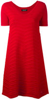 Twin-Set flared dress - women - Polyamide/Polyester/Spandex/Elastane/Viscose - S