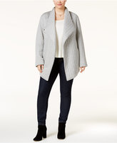 Rachel Roy Trendy Plus Size Quilted Jacket