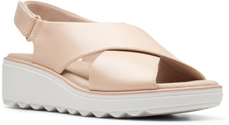 Clarks Collection Strappy Leather Sandals - Jillian Jewel