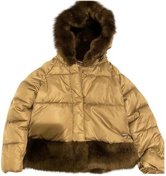Byblos Green Synthetic Jackets & Coats