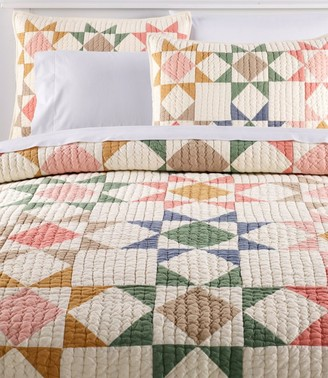 L.L. Bean North Star Patchwork Quilt Collection