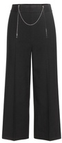 Alexander Wang mytheresa.com exclusive embellished cotton and wool cropped trousers