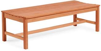 Vifah Malibu Outdoor Patio 5-Foot Wood Backless Garden Bench