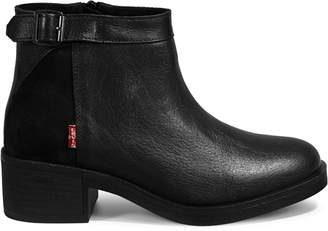 Levi's Meiss Leather Suede Ankle Boots