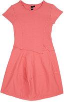 European Culture Cotton-Blend Jersey & Poplin Dress