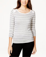 Energie Juniors' Josette Striped Pullover Top