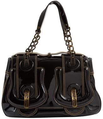 Fendi B Bag Black Patent leather Handbags