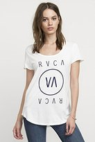 RVCA Women's High End 3 Scoop Neck Graphic Tee