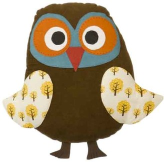 ferm LIVING Cotton Owl Pillow - cotton