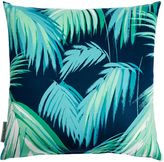 Matthew Williamson Blue Tropicana Palm Cushion