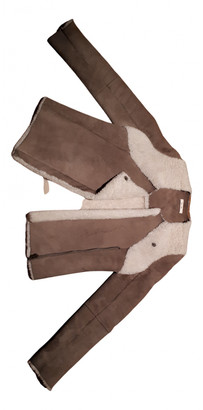 Bel Air Beige Shearling Leather jackets