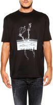 Lanvin Ginger Print T-shirt