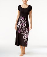 Alfani Floral-Print Knit Nightgown, Only at Macy's