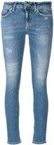 Dondup frayed skinny jeans
