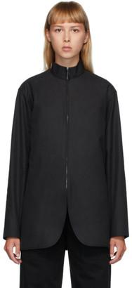 The Row Black Zana Shirt