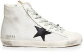 Golden Goose Deluxe Brand Francy high-top cord and leather trainers