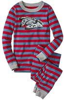 Kids Star WarsTM Long John Pajamas In Organic Cotton