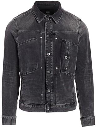 G Star Faded Denim Jacket