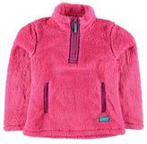 Gelert Kids Yukon Fleece Junior Girls Long Sleeve Chin Guard Quarter Zip Top