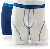 adidas Men's 2-pack ClimaLite Athletic Stretch Boxer Briefs