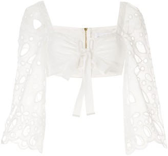 Alice McCall Baudelaire cut-out crop-top