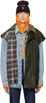 Vetements Green Nerd Waxed Vest