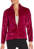 Miss Elaine Fleece Zip-Front Sleep Jacket