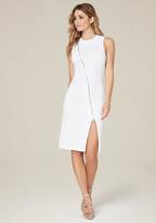 Bebe Rebecca Textured Zip Dress