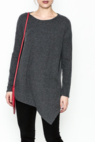Cherish Brushed Asymmetrical Tunic
